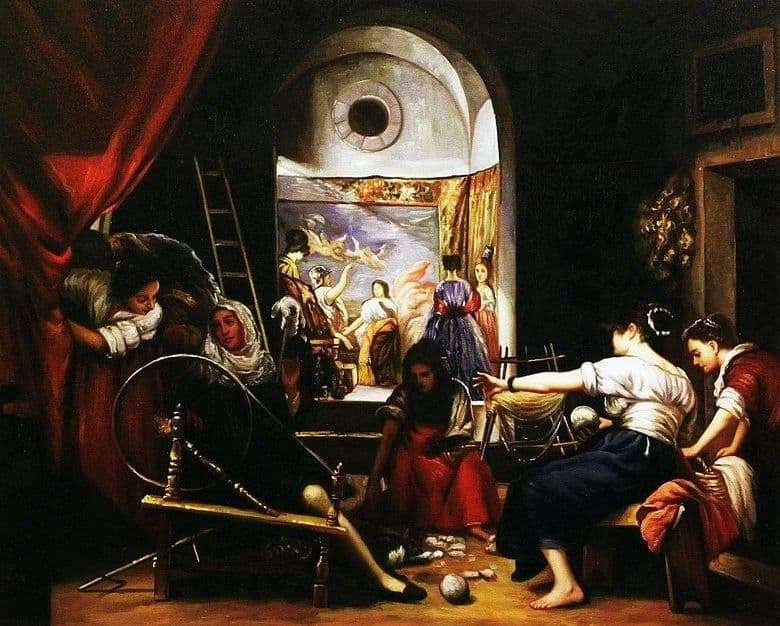 Description of the painting by Diego Velázquez Straight