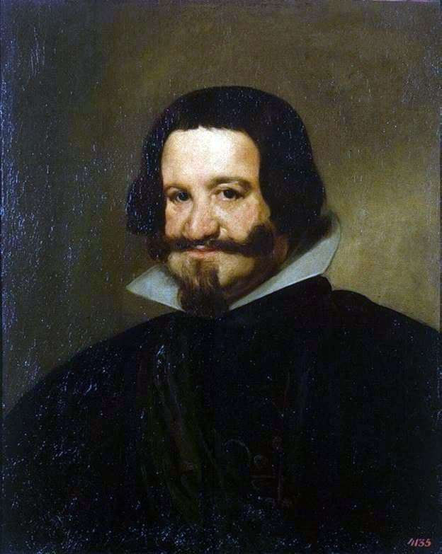 Description of the painting by Diego Velázquez Portrait of Count Olivares