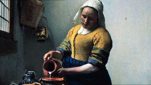 Description of the painting by Jan Vermeer Thrush