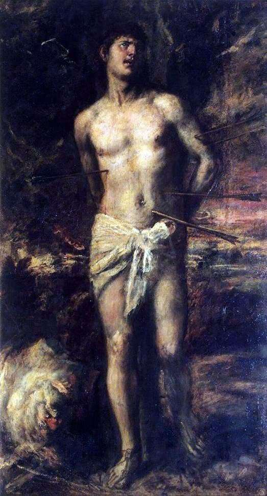 Description of the painting by Titian Vecellio Saint Sebastian