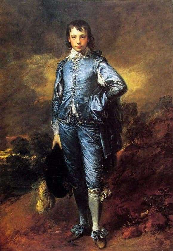 Description of the painting by Thomas Gainsborough Blue Boy