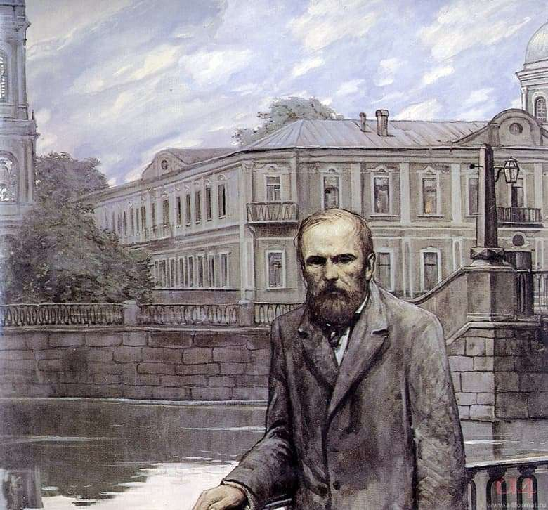 Description of illustrations by Ilya Glazunov works by Dostoevsky