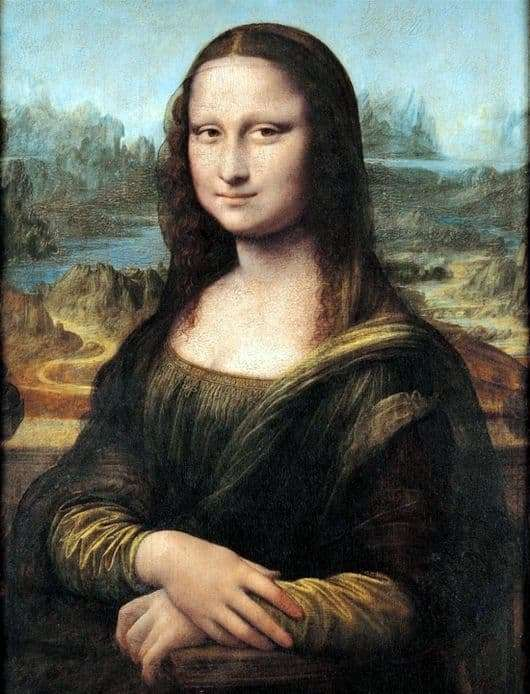 Description of the painting by Leonardo da Vinci Mona Lisa (Gioconda)