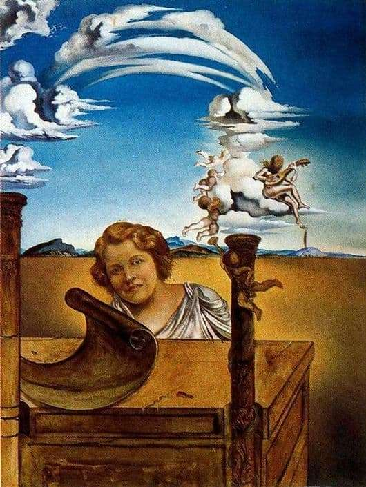 Description of the painting by Salvador Dali Melancholy
