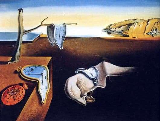 Description of the painting by Salvador Dali The Constancy of Memory