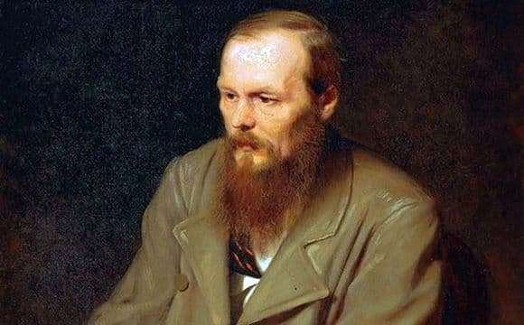 Description of the painting by Vasily Perov Portrait of Dostoevsky