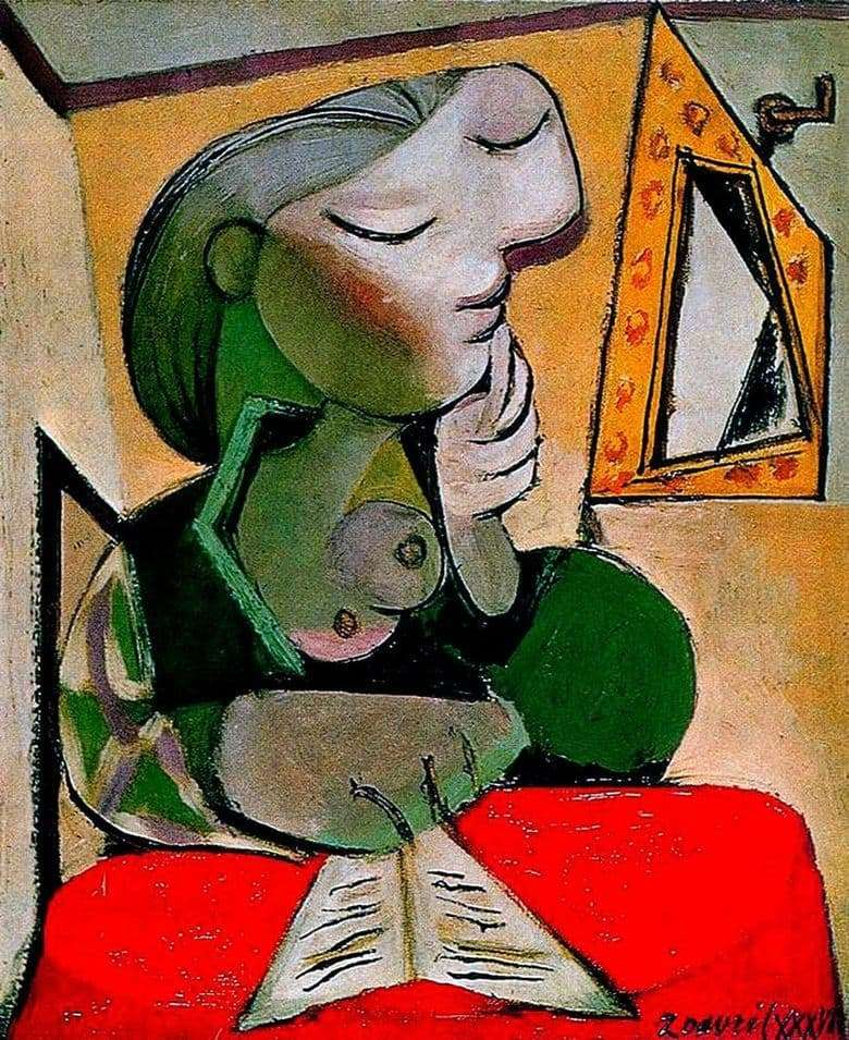 Description of the painting by Pablo Picasso Portrait of a Woman