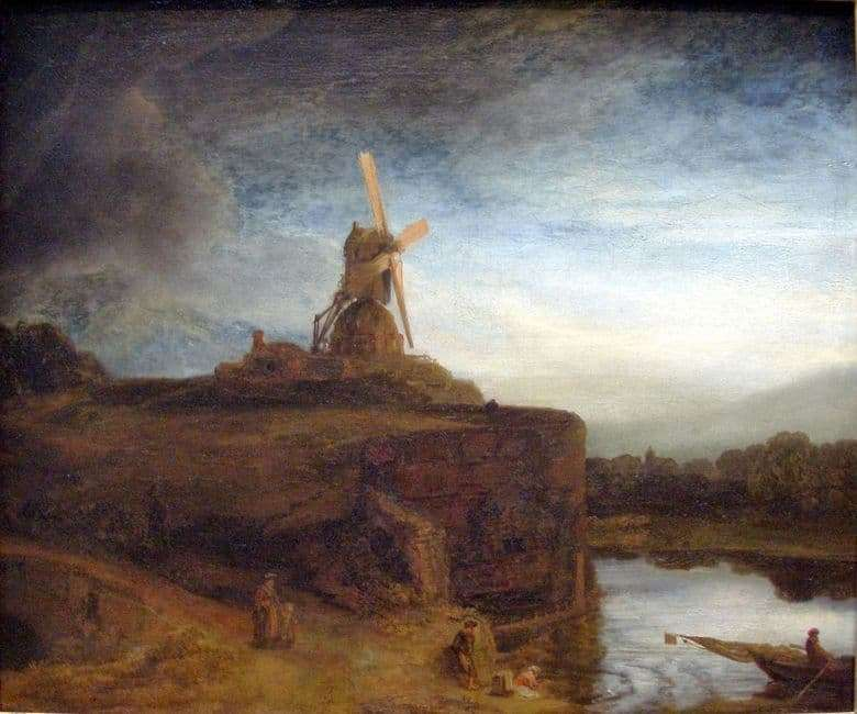 Description of the painting by Rembrandt Harmens van Rijn The Mill