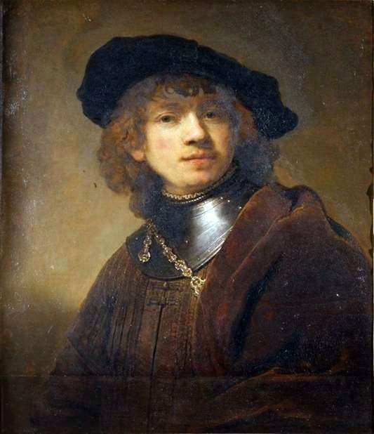 Description of the painting by Rembrandt Harmensz van Rijn Portrait of a young man