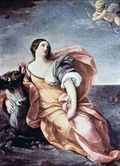 Description of the painting by Guido Reni Abduction of Europe