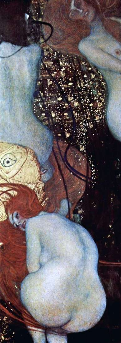 Description of the painting by Gustav Klimt Golden Fish