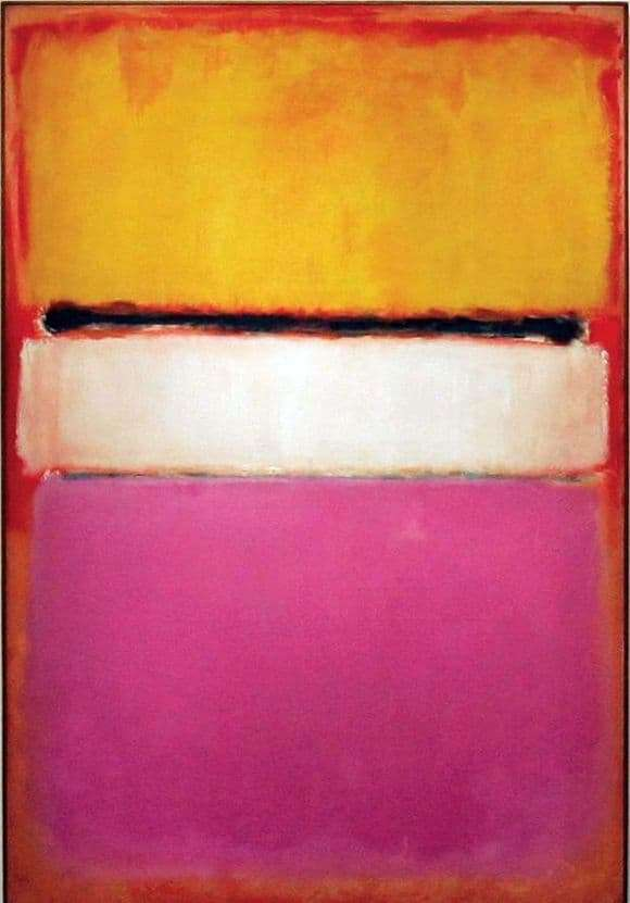 Description of the painting by Mark Rothko White Center