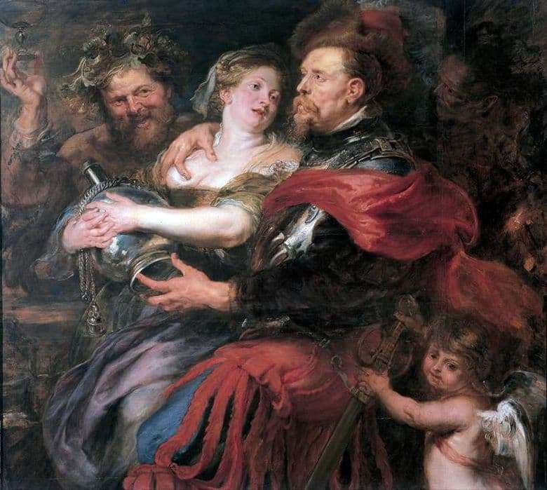 Description of the painting by Peter Rubens Venus and Mars