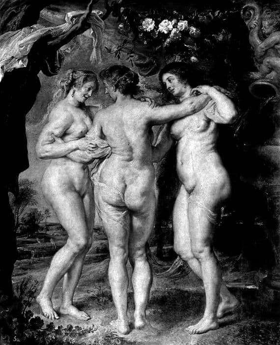 Description of the painting by Peter Rubens Three Graces