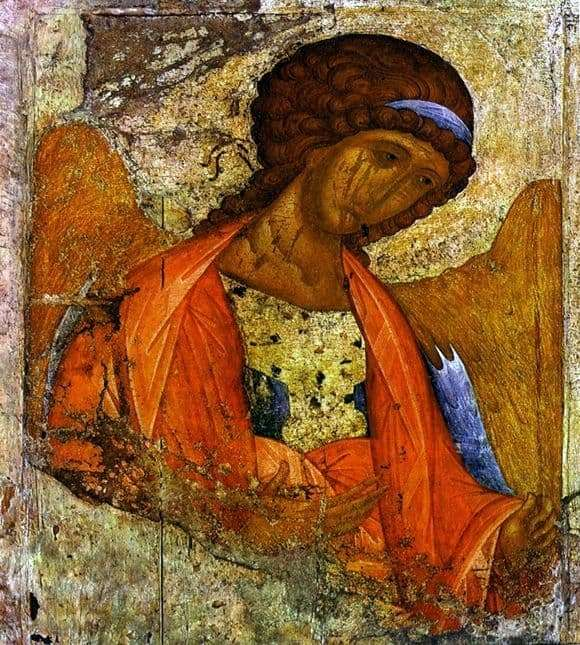 Description of the icon by Andrei Rublev Archangel Michael