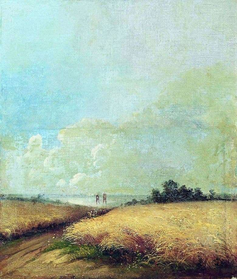 Description of the painting by Alexei Savrasov Summer