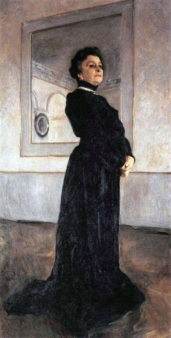 Description of the painting by Valentin Serov Portrait of Yermolova