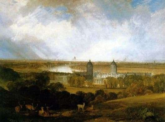 Description of the painting by William Turner London