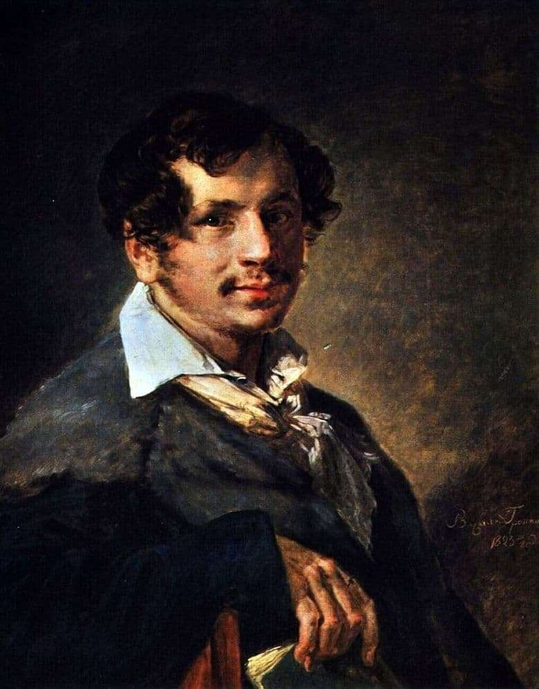 Description of the painting by Vasily Tropinin Portrait of Bulakhov