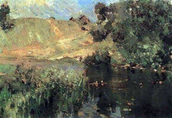Description of the painting by Konstantin Korovin Summer