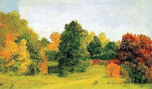 Description of the painting by Arkhip Kuindzhi Autumn