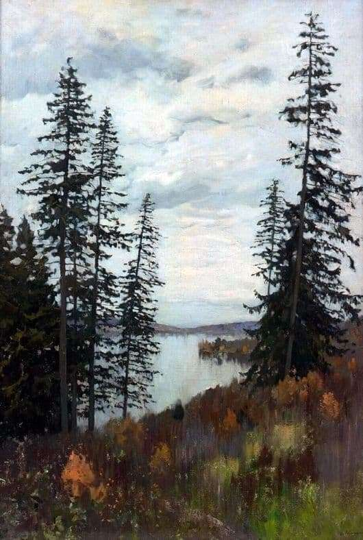 Description of the painting by Isaac Levitan In the North