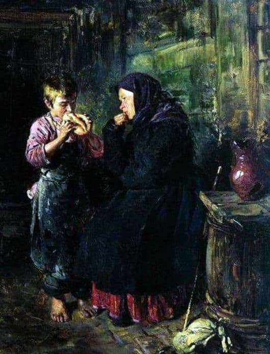 Description of the painting by Vladimir Makovsky Date