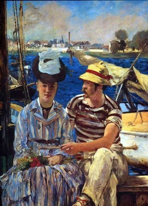 Description of the painting by Edward Manet Arzhantey