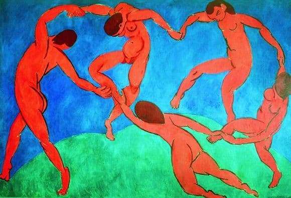 Description of the painting by Henri Matisse Dance