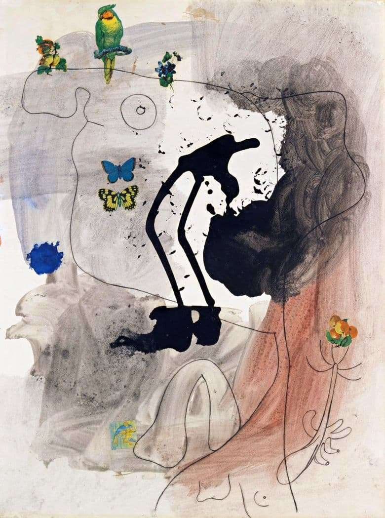 Description of the painting by Joan Miro Metamorphosis