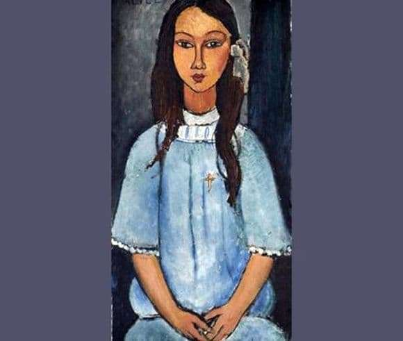 Description of the painting by Amedeo Modigliani Alice