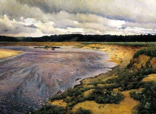 Description of the painting by Ilya Ostroukhov Siverko